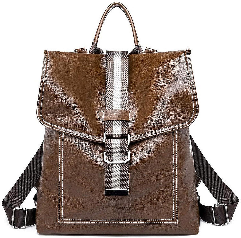 Backpack Women Shoulder Bag Backpack Leather Large Capacity Ladies School Bag