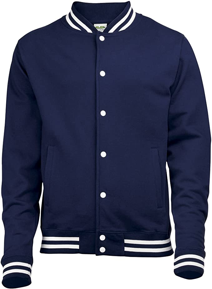 Vintage Coats & Jackets | Retro Coats and Jackets Awdis Mens College Jacket $44.12 AT vintagedancer.com