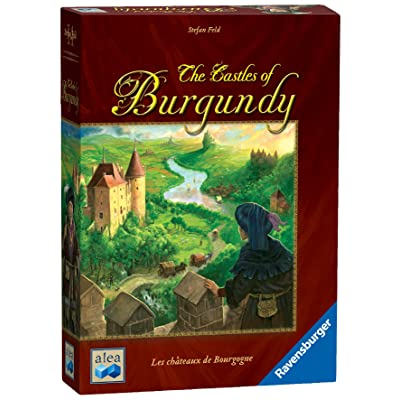 Ravensburger The Castles of Burgundy Board Game - Fun Strategy Game That's Easy to Learn and Play with Great Replay Value: Toys & Games