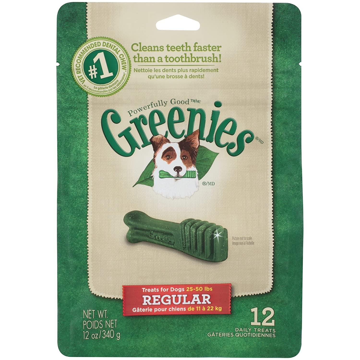 Greenies Dental Treat for Dogs Regular Size
