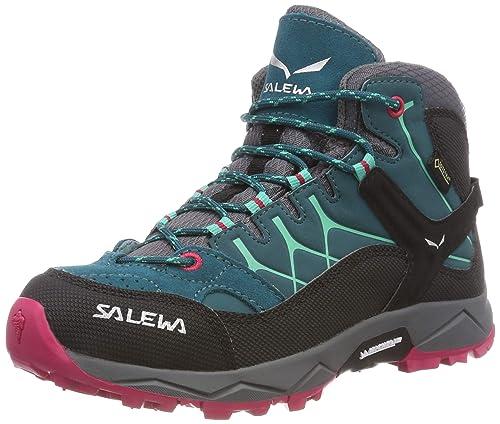 Salewa Jr ALP Trainer Mid GTX, Botas de Senderismo para Niños: Amazon.es: Zapatos y complementos