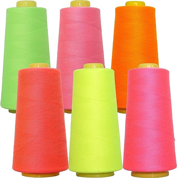 Threadart Polyester Serger Thread Sea Foam 2750 yds 40//2 56 Colors Available