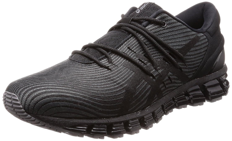 Asics Gel-Quantum 360 4, Zapatillas de Running para Hombre 43.5 EU|Gris (Dark Grey/Black 020)
