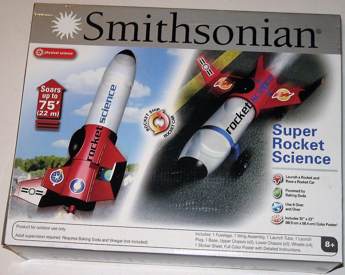 Smithsonian Super Rocket Science Rocket Ship - Rocket Car
