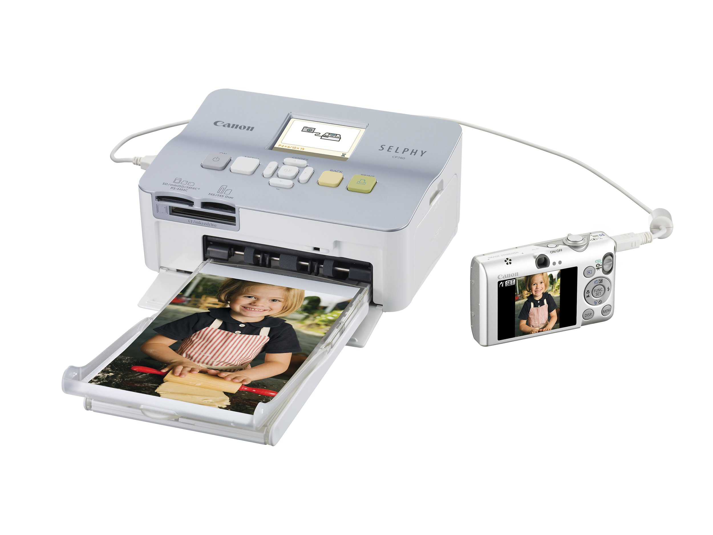 Canon SELPHY CP780 Compact Photo Printer by Canon