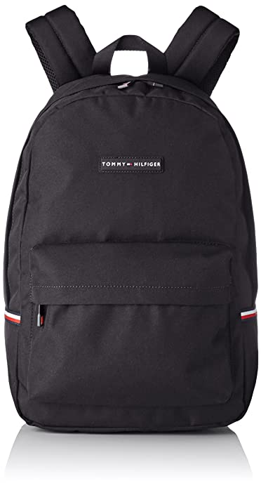 Tommy Hilfiger - Backpack, Mochilas Hombre, Negro (Black), 16x46x30 cm (B x H T): Amazon.es: Zapatos y complementos