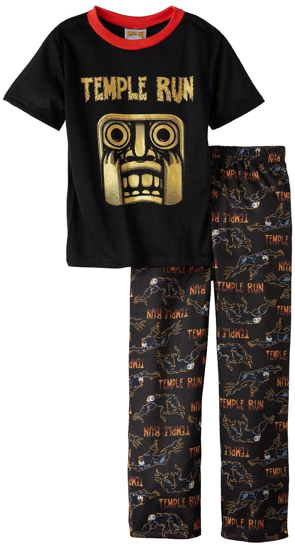 Komar Little Boys Scary Temple Run Pajama Set Komar Kids Girls 2-6x K139892TP