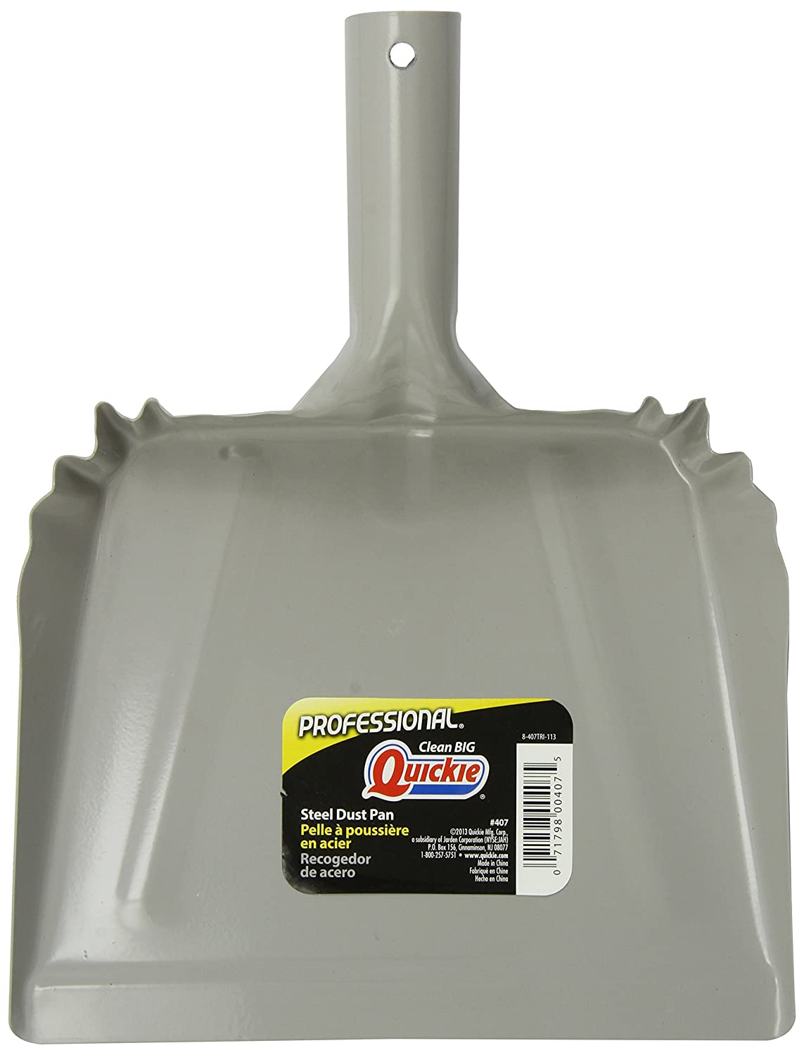Quickie Steel Dust Pan 40736