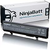 NinjaBatt Batería de portátil de Dell MT196 KM742 WU841 RM661 PP32LA T749D Latitude E5400 E5410 E5500 E5510 PP32LB KM771 KM668 KM769 KM752 KM760 312-0762 KM970 312-0902 PW640 U116D WU843 MT186 RM680 MT187