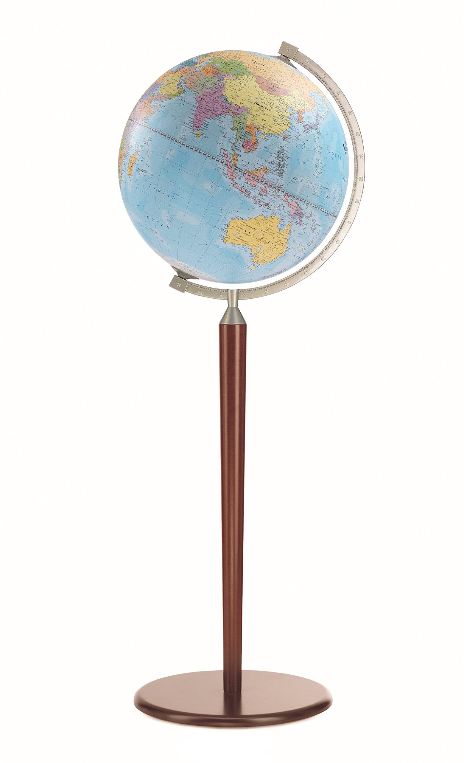 Zoffoli 16'' Vasco da Gama Floor Globe (Dark Stand)