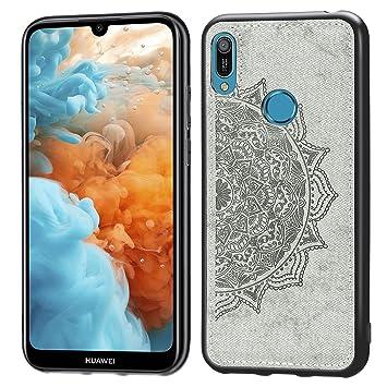 Amazon.com: Abtory Huawei Y6 2019 Funda Huawei Y6 2019 ...