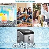 Bossin Countertop Ice Maker PortableIce