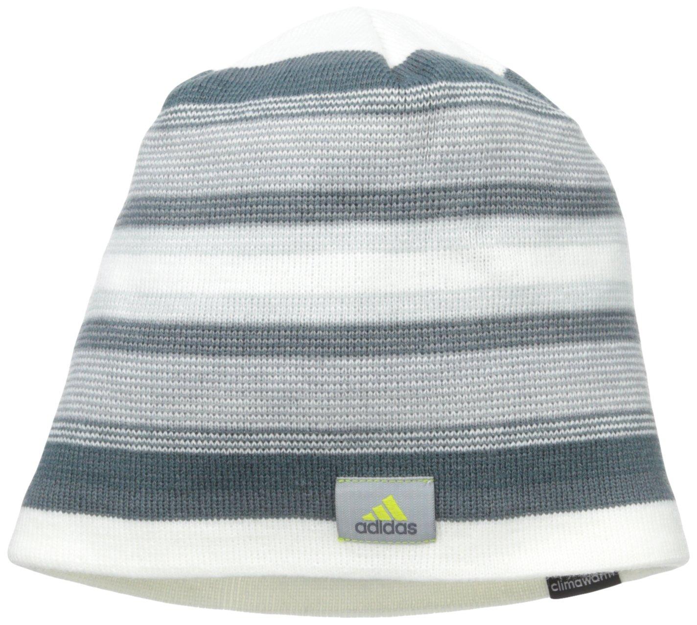 51f286b4 adidas Men's Keystone Beanie, One Size, Chalk White/Clear  Onix/Midnight/Solar Yellow: Amazon.in: Sports, Fitness & Outdoors