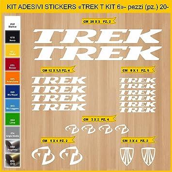 Kit Pegatinas Stickers Bicicleta Trek T - Kit 6-20 Piezas- Bike ...