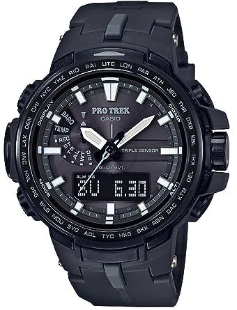 7fa0a50d1c Amazon | [カシオ]CASIO 腕時計 PROTREK 世界6局対応電波ソーラー PRW ...