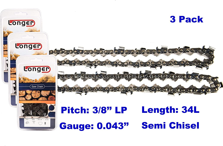 "cc CRAFTSMAN//SEARS 8/"" Pole Saw Repl.Chain Model # 79245"