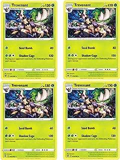 product image for Pokemon - Trevenant - Rebel Clash x4 Card Playset - 15/192 Rare
