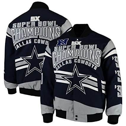 newest 34905 84ad5 Dallas Cowboys Cotton Twill Jacket