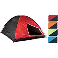 High Quality 3-4 Man Person Berth Dome Tent - in 4 Colours 1 Picked At Random 690