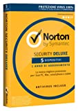 Norton Security Deluxe 2017 - 5 dispositivi, 1 anno