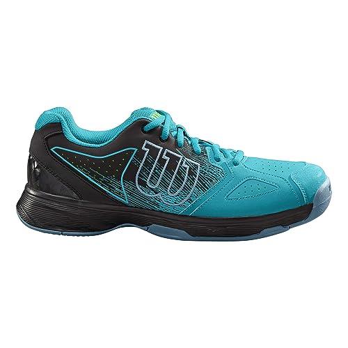 Wilson Kaos Stroke, Zapatillas de Tenis para Hombre, Azul (Capri Breeze/ Black/ Gecko Green), 41 1/3 EU: Amazon.es: Zapatos y complementos