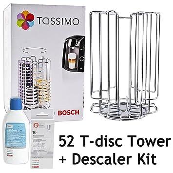 Rotación de Bosch Tassimo 52 T-Disc de la cápsula de titular de la torre