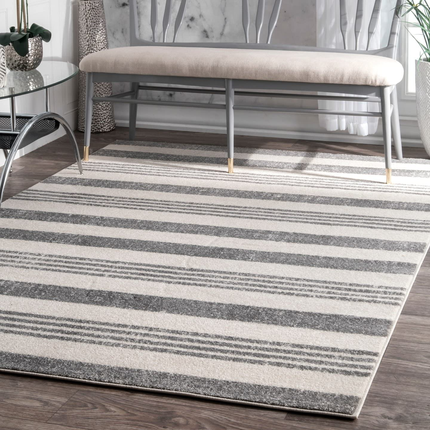 nuLOOM Striped Kelsi Area Rug