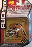 Flick Trix Toy Collectable - Die-cast Bomber Bikes - Hoffman Bikes - White and Black