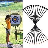 """Funtress 27"""" Fiberglas Bogenschießen Saugnapf Pfeile für Kinder Frauen Praxis Bogenschießen für Anfänger Recurve & Compound & Long Bow"""
