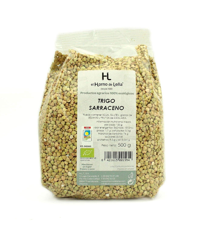 Horno de Leña Trigo Sarraceno Grano Eco, 500g, Pack de 1: Amazon ...