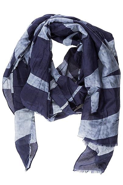 low priced c0bd6 08dcc Armani Jeans sciarpa uomo in cotone blu: Amazon.it ...