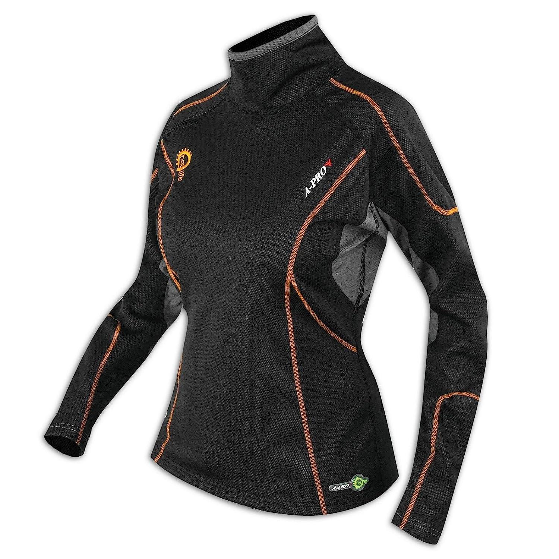 A-Pro Thermoshirt Winter Atmungsaktiv Motorrad Textilshirt Funktionsshirt Damen XS
