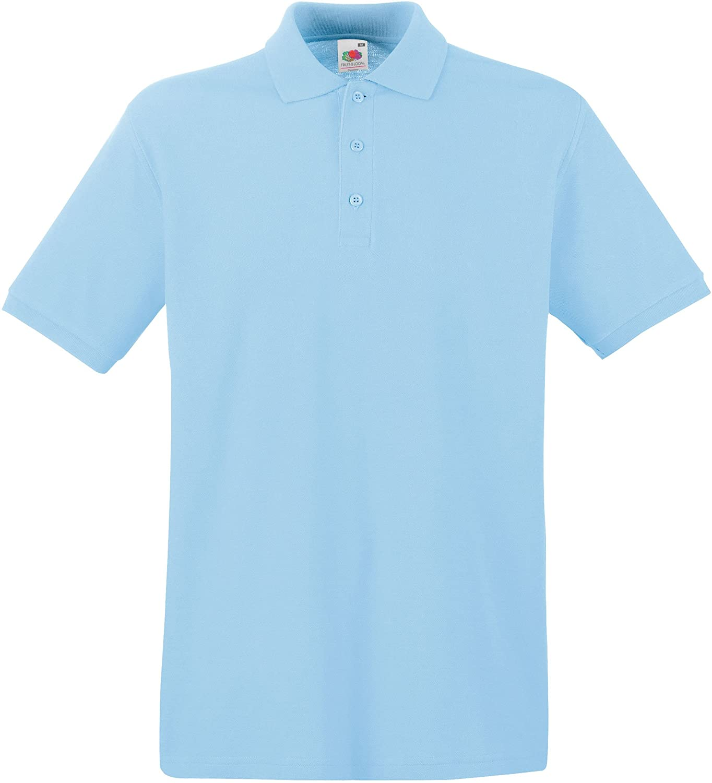 Fruit of the Loom Premium Polo Camisa para Hombre: Amazon.es: Ropa ...