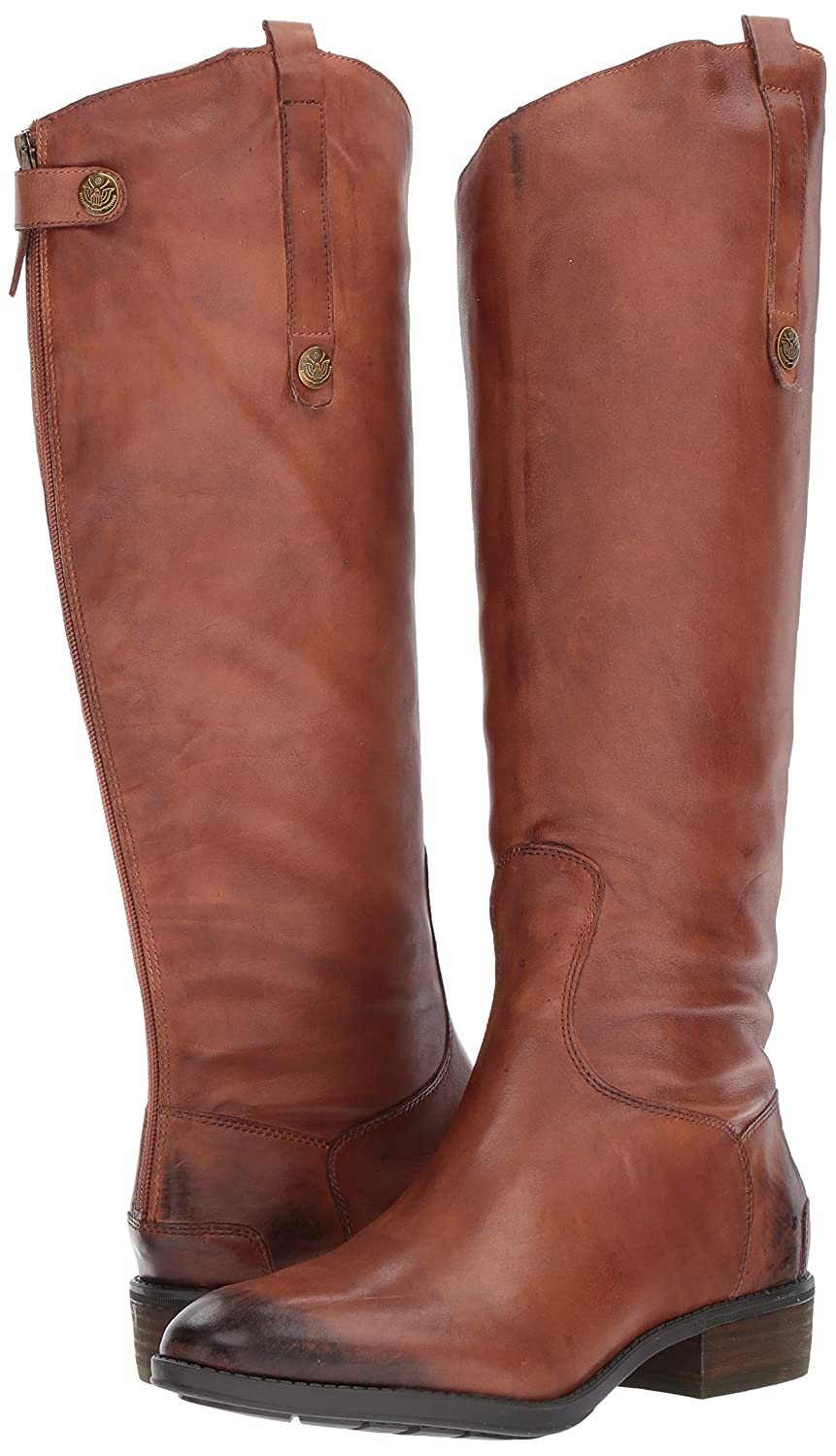 Sam Edelman Women's Penny Riding Boot B007FNCPPS 9.5 B(M) US|Whiskey Leather