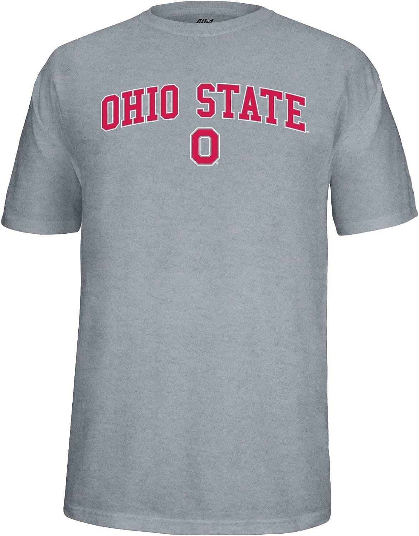 Black J America NCAA Ohio State Buckeyes Block O Choice Tee Large