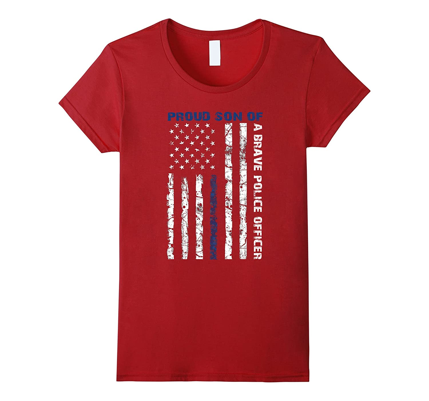 Proud Son Of A Brave Police Office, Police Week 2017 T-Shirt