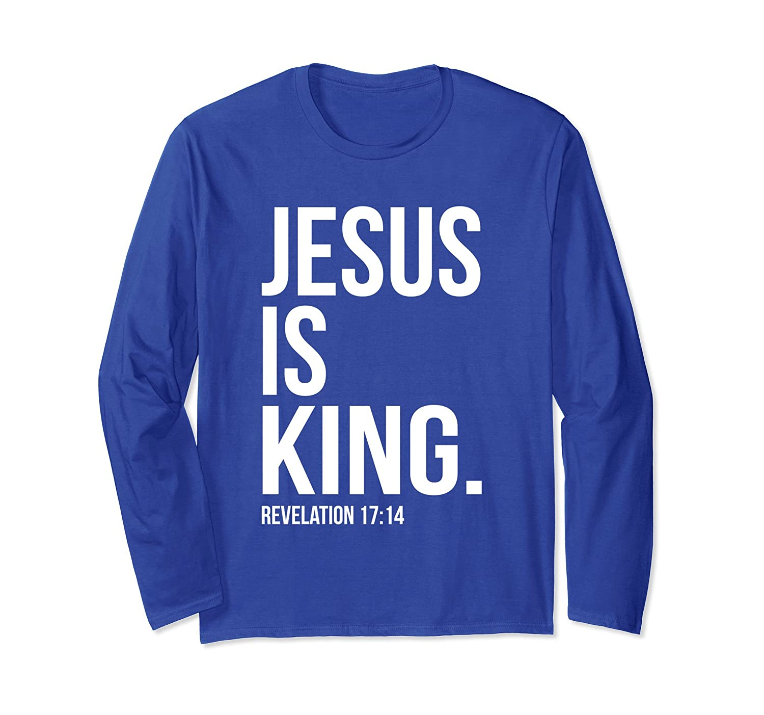 Jesus Is King Christian Gospel Bible Sayings T-Shirts-ah my shirt one gift
