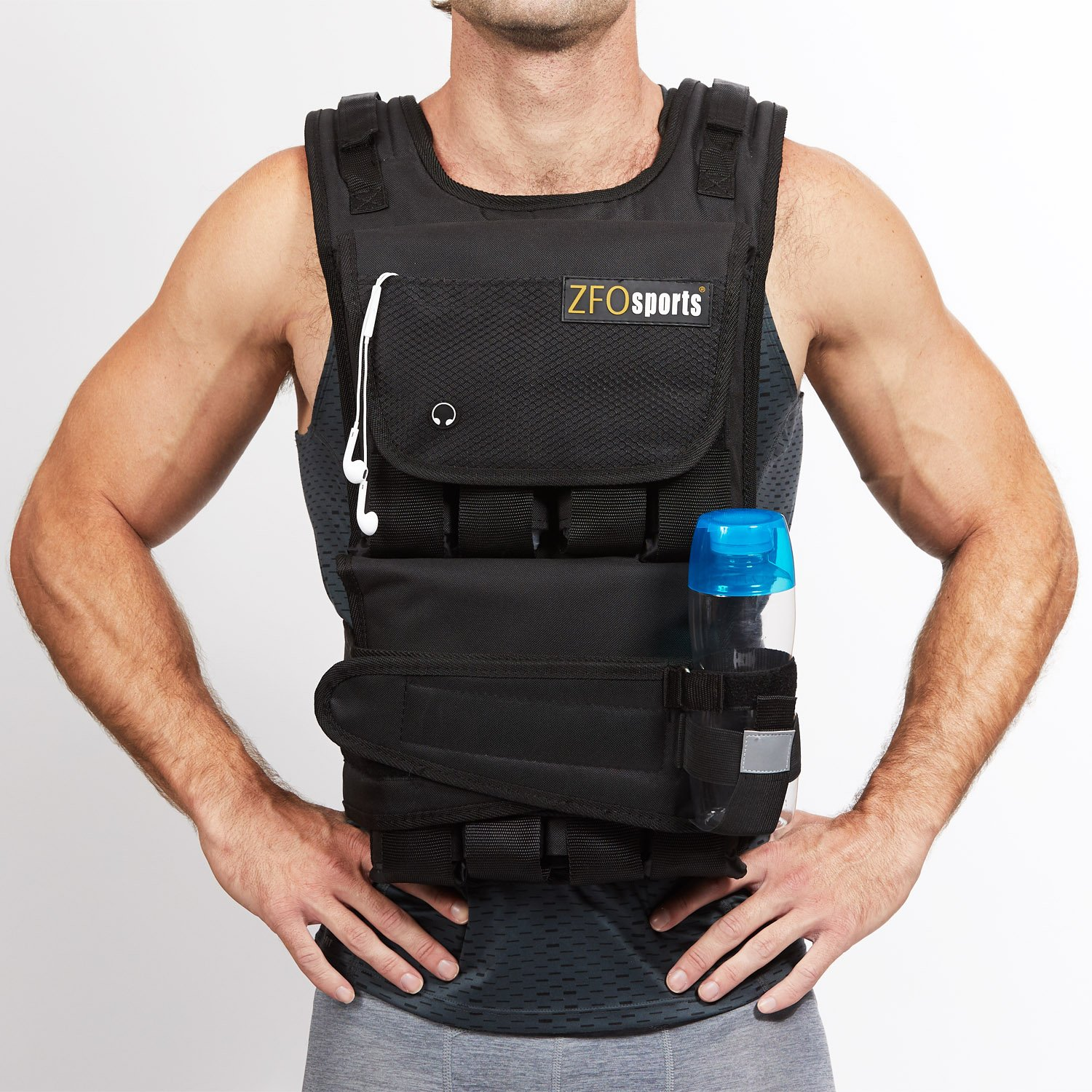 ZFOsports Weighted Vest 20lbs – 80lbs