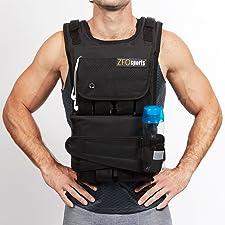 ZFOsports vest 40, 60, 80 pounds