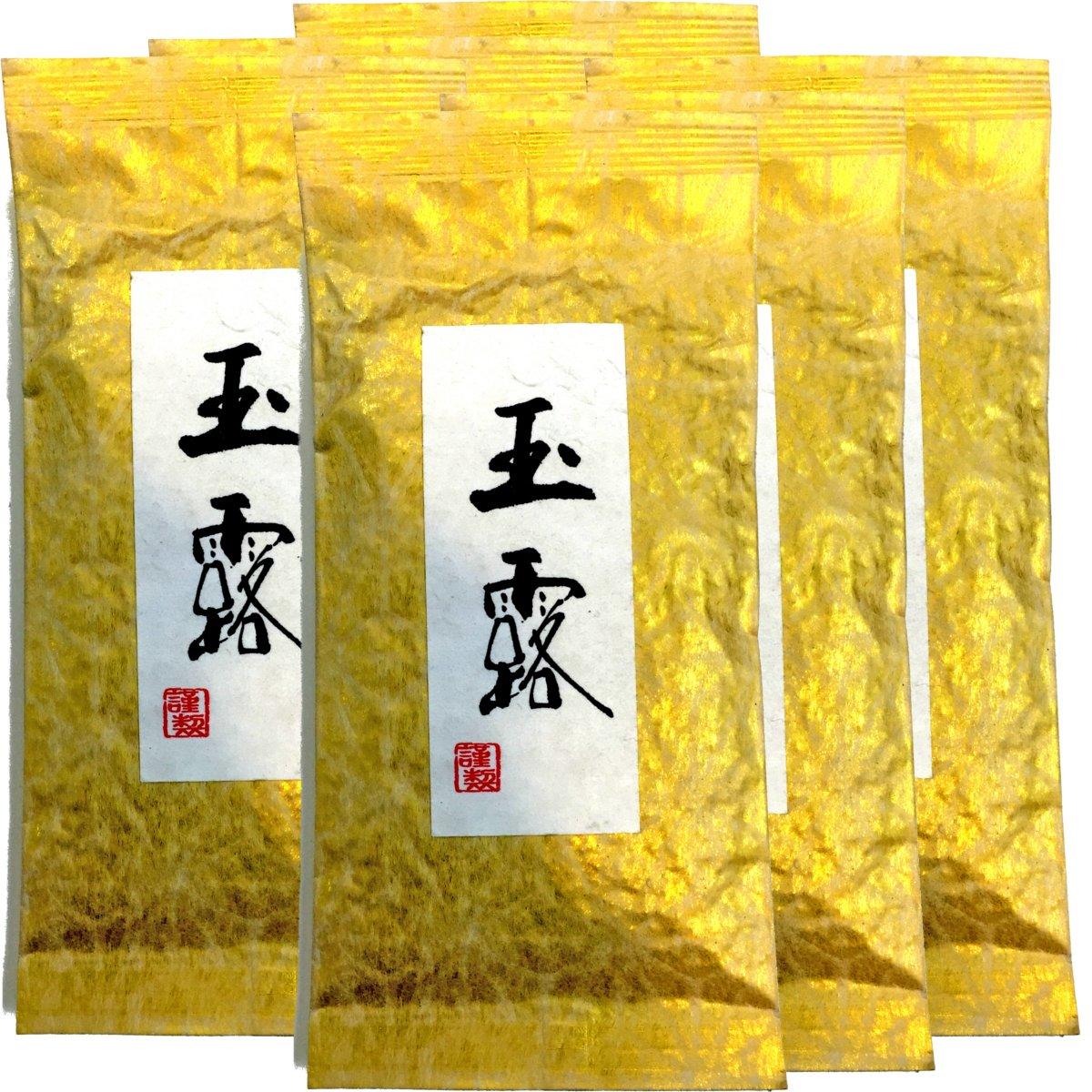 Japanese Tea Shop Yamaneen Gyokuro tea Green tea of the highest quality tea Uji-shi, Kyoto 100g. x 6packs