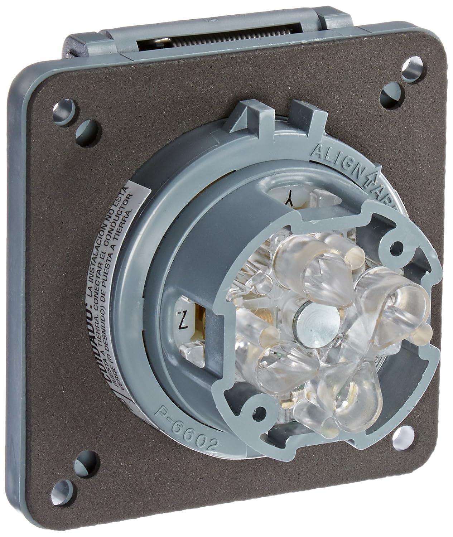 Hubbell Wiring Systems HBL2730SW Twist-Lock Watertight Safety Shroud ...