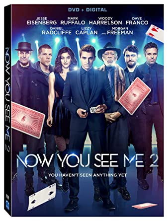 Image result for now you see me 2 dvd