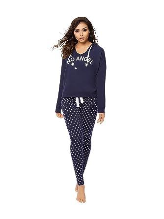 Ann Summers Womens No Angel PJ Set Sexy Pyjama Loungewear Nightwear  Sleepwear 24-26 45156ff78