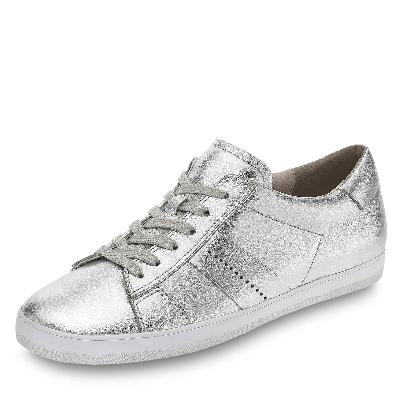 Gabor Zapatos de Cordones de Piel Para Mujer 6 plata