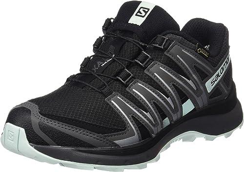 Salomon Damen Trail Running Schuhe, XA LITE GTX W, Farbe: schwarzTürkis (blackmagnetfair aqua)