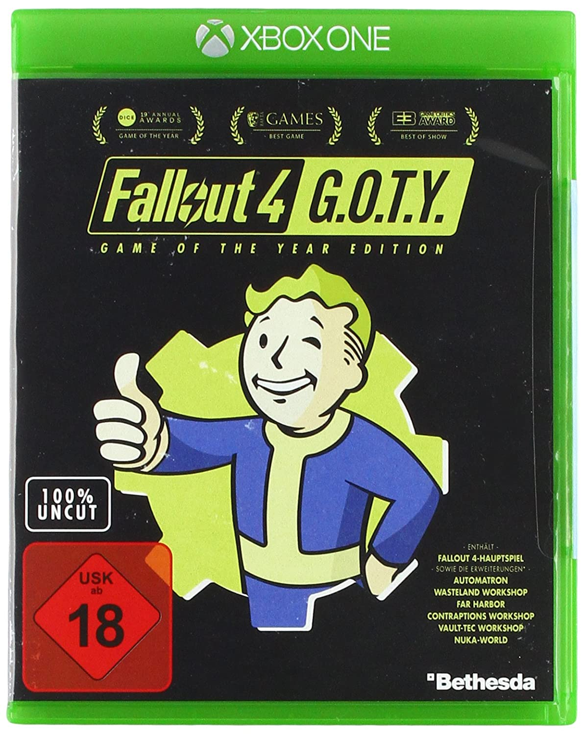 Fallout 4 Game Of The Year Edition Playstation 4 Amazonde Games