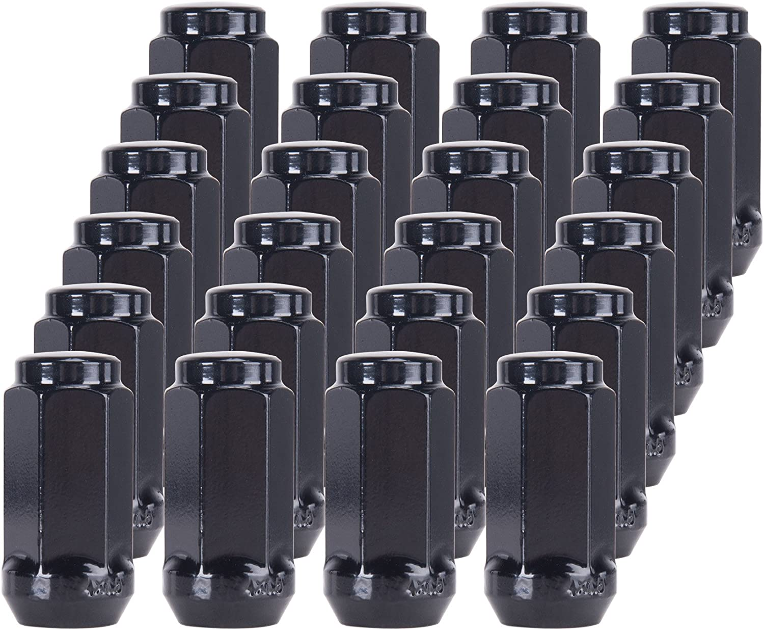 20pcs Chrome 14mm X 1.50 Wheel Lug Nuts fit 2012 Chevrolet Suburban 1500 May Fit OEM Rims Buyer Needs to Review The spec