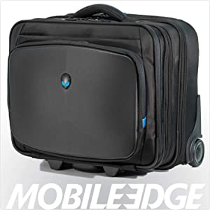Alienware Vindicator Rolling Gaming Laptop Case, 13-Inch to 17-Inch, Black (AWVRC1)
