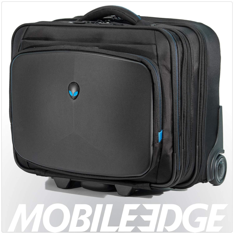 Mobile Edge Alienware Vindicator Bag Rolling Laptop Case 13 Inch to 17 Inch Black AWVRC1