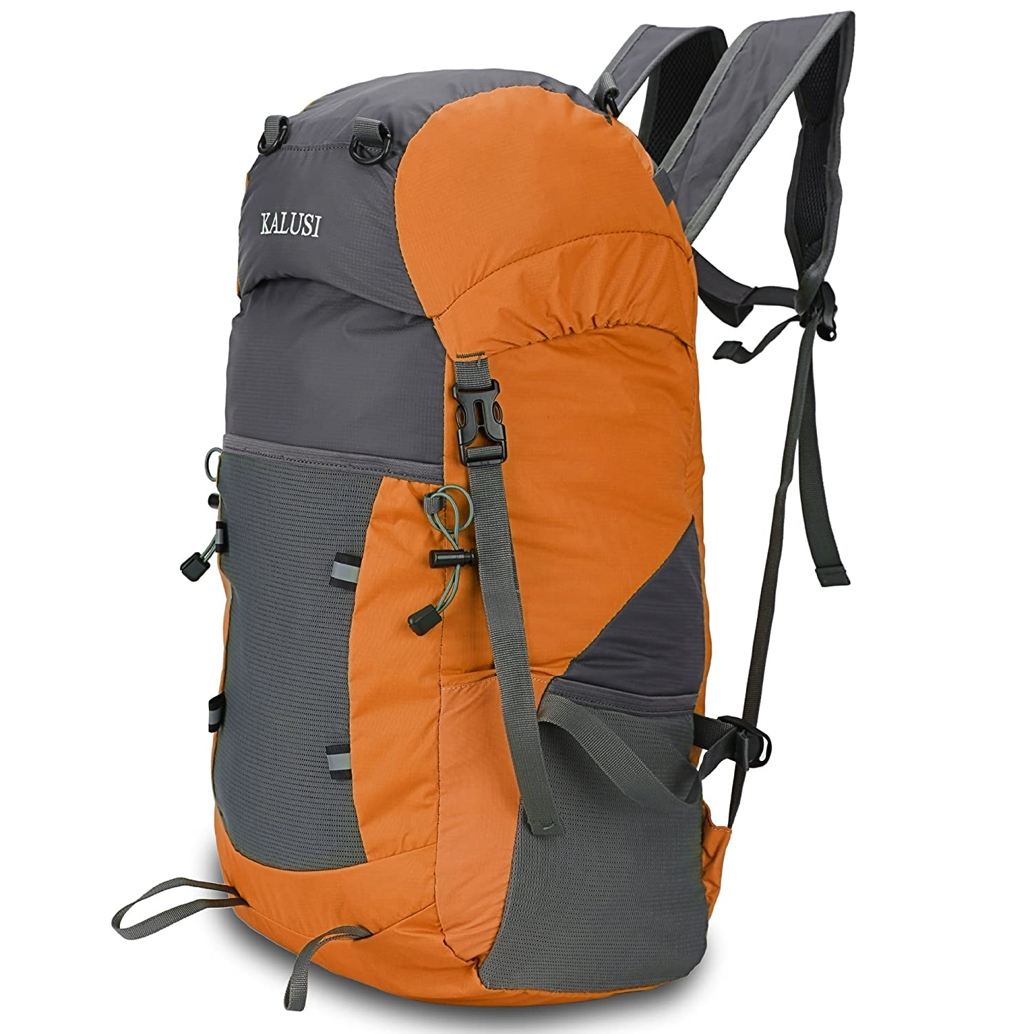 85%OFF Kalusi Large 35l Lightweight Waterproof Hiking Daypack ,Foldable Outdoor Backpack